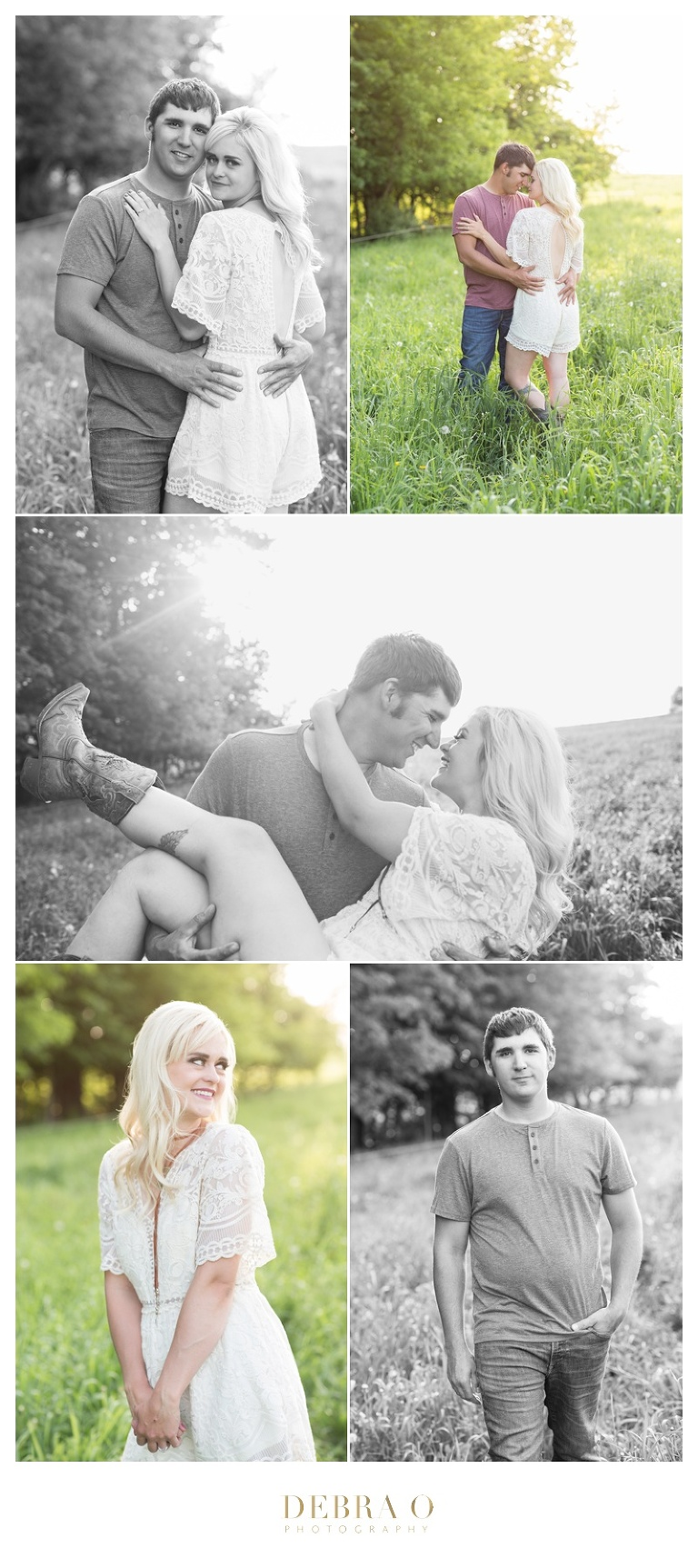 Debra O Photography, Farm engagement session, sunset engagement session, Hudson portrait photographer, Hudson wedding photographer