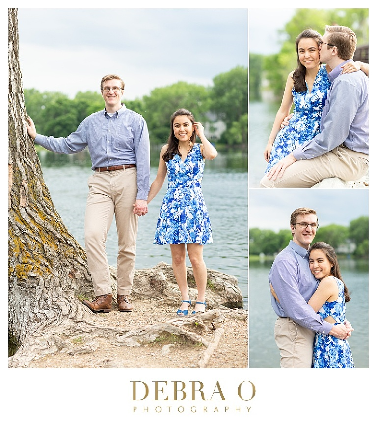 Debra O Photography, Engagement Session Minnetonka Minnsota, Minnetonka wedding photographer, Minneapolis wedding photographer, Hudson Wi Wedding Photographer, Engagement photos, Lakeside engagement photo session, Shady Oaks Park Minnetonka engagment session